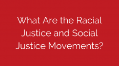 what-are-the-racial-justice-and-social-justice-movements
